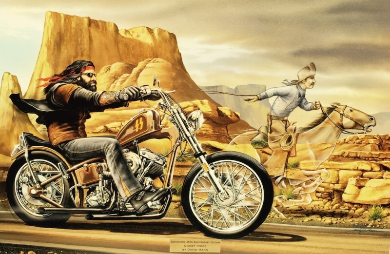 rumble inn originals all artwork david mann rally fine art fine art world. Black Bedroom Furniture Sets. Home Design Ideas